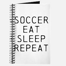 Soccer Eat Sleep Repeat Journal