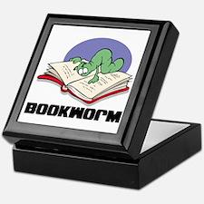 Bookworm Book Lovers Keepsake Box