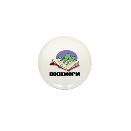 Bookworm Book Lovers Mini Button