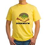 Bookworm Book Lovers Yellow T-Shirt