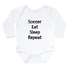 Soccer Eat Sleep Repeat Body Suit