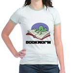 Bookworm Book Lovers Jr. Ringer T-Shirt