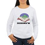 Bookworm Book Lovers Women's Long Sleeve T-Shirt