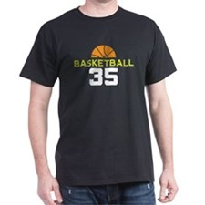 Custom Basketball Player 35 T-Shirt