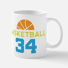 Custom Basketball Player 34 Mug