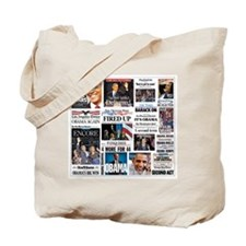 Pro Obama Victory Collage Tote Bag
