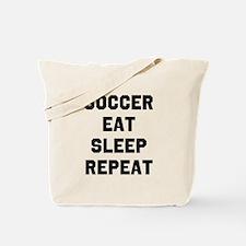 Soccer Eat Sleep Repeat Tote Bag