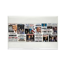 Pro Obama Victory Collage Magnets