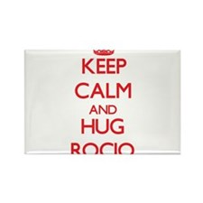 Keep Calm and Hug Rocio Magnets