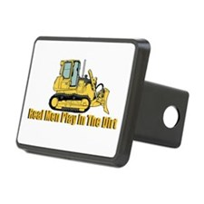 Real Men Play In The Dirt Hitch Cover