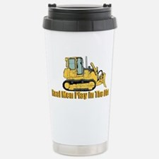 Real Men Play In The Dirt Travel Mug