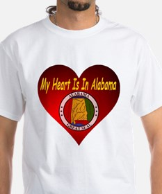 My Heart Is In Alabama Shirt
