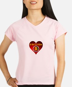 My Heart Is In Alabama Performance Dry T-Shirt
