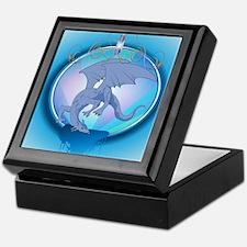 The blue dragon Keepsake Box