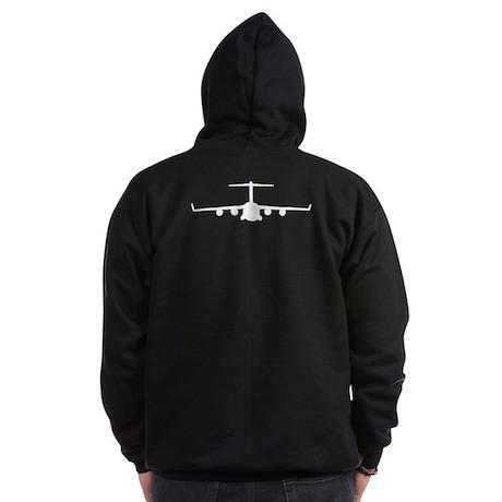 C-17 Zip Hoodie (dark)
