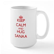 Keep Calm and Hug Sanaa Mugs
