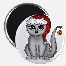 christmas cat Magnets