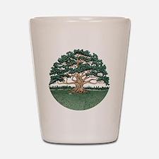 The Wisdom Tree Shot Glass