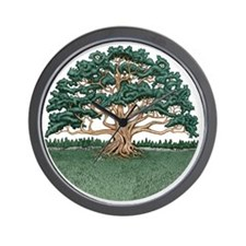 The Wisdom Tree Wall Clock
