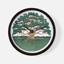 The Wisdom Tree Wall Clock