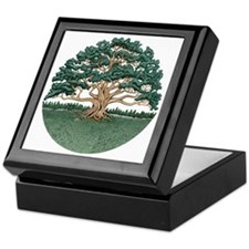 The Wisdom Tree Keepsake Box