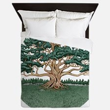 The Wisdom Tree Queen Duvet