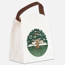The Wisdom Tree Canvas Lunch Bag
