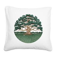 The Wisdom Tree Square Canvas Pillow