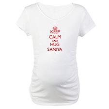 Keep Calm and Hug Saniya Shirt