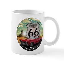 1965 Pontiac GTO - Route 66 - Clock Design Mugs