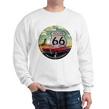 1965 Pontiac GTO - Route 66 - Clock Design Sweatsh