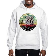 1965 Pontiac GTO - Route 66 - Clock Design Hoodie