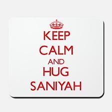 Keep Calm and Hug Saniyah Mousepad