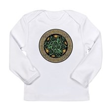 Celtic Lilly Long Sleeve T-Shirt