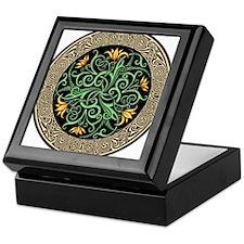 Celtic Lilly Keepsake Box