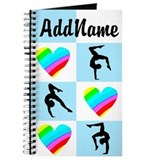 Customize gymnastics Journals & Spiral Notebooks