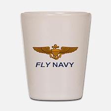 Naval Aviator Wings Shot Glass