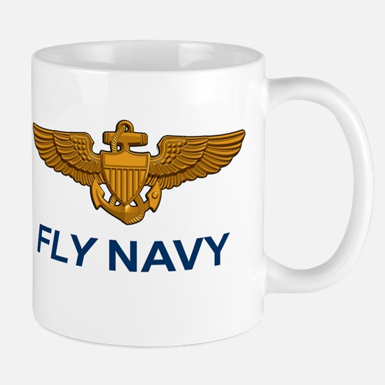 Navall Aviator Wings Mug