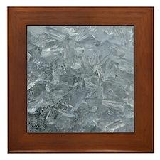 Raw Ice Framed Tile