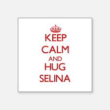 Keep Calm and Hug Selina Sticker