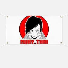 Muay Thai girl 1 Banner