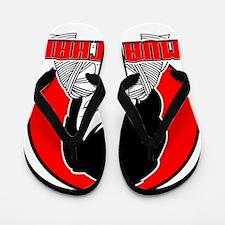 Muay Thai girl 1 Flip Flops