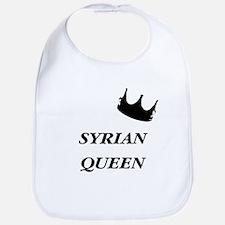 Syrian Queen Bib