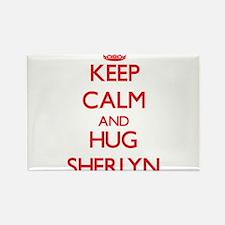 Keep Calm and Hug Sherlyn Magnets