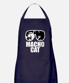 Macho Cat Apron (dark)