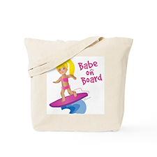 Surfer Girl blonde Tote Bag