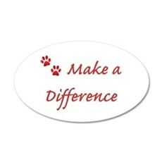 Make a Difference Wall Decal