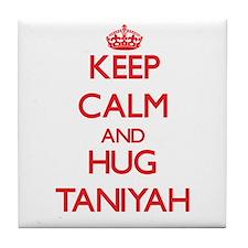 Keep Calm and Hug Taniyah Tile Coaster