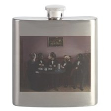 Dapper Dogs Flask