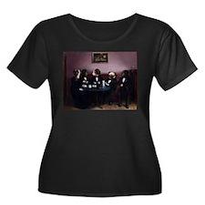 Dapper Dogs Plus Size T-Shirt